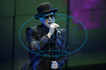Pet Shop Boys - Band,  Pop music,  UK - Singer Neil Tennant performing in Cologne,  Germany,  Palladium - 24.06.2009