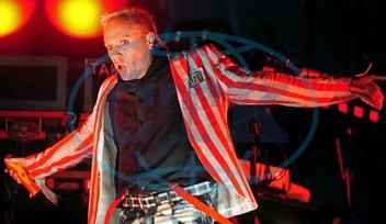 Prodigy - Band,  Pop music,  UK - Singer Keith Flint| performing at music festival _Rock am Ring_ in Germany - 06.06.2008