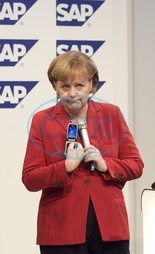 Angela Merkel - Politician,  CDU,  Chancellor of Germany - at the Cebit in Hannover - 04.03.2008