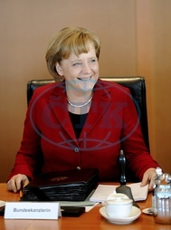 Merkel,  Angela - Politician,  CDU,  Chancellor of Germany - - 08.04.2008  For-commercial-use-please-contact-ullstein-bild!