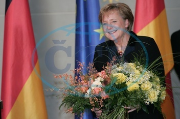 Angela Merkel,  chancellor of Germany after the election. 22.11.2005