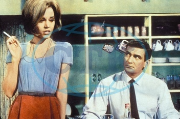 Jane Fonda *21.12.1937- Actress,  USA with Rod Taylor in _Sunday in New York_  - 1963  Not-for-use-in-tv-productions!