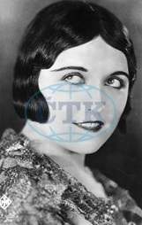Pola Negri,  herečka - Actress,  Poland - *03.01.1897-01.08.1987+ - portrait - identical with image no. #52870 - 1921
