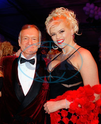 Anna Nicole Smith,  Hugh Hefner