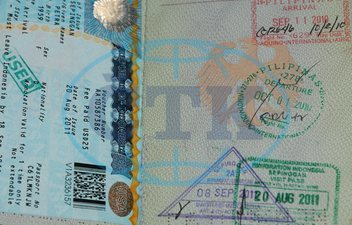 travel stamps