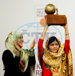 Malala Yousafzai Receives The International Children's Peace Prize - The Hague