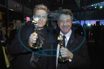 Bryan Adams and Dustin Hoffman - Golden Camera 2005
