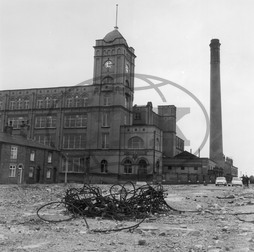 First Mill textile factory,  Leigh,  Lancashire