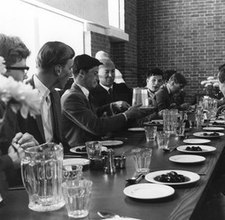 School dinner at Marlborough School