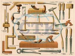 Tools used in carpentry and joinery