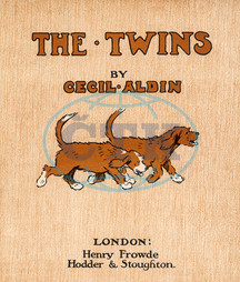 The Twins by Cecil Aldin,  title page