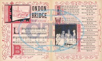 London Bridge song,  words and music