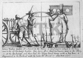 Quakers and Punishment for Blasphemy