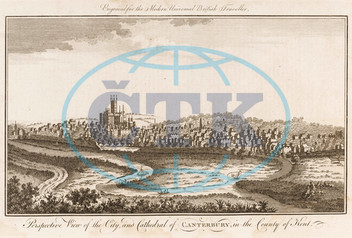 City of Canterbury in England 1779