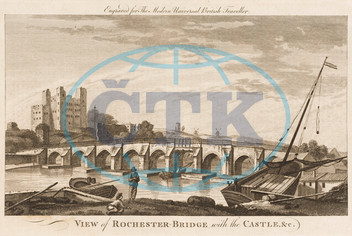 Medway Bridge and the Castle,  Rochester