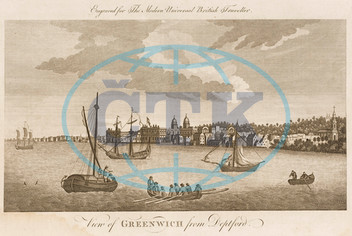 The River Thames at Greenwich,  London