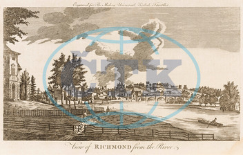 Richmond,  Surrey and the River Thames