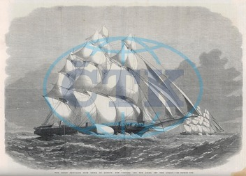 Clipper ships Ariel and Taeping