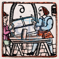 C17 WOODWORKERS/WOODCUT