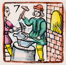 C17 BLACKSMITH/WOODCUT