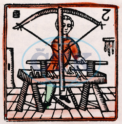 C17 WOOD TURNER/WOODCUT