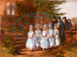 FUNERAL/CHILD,  1861