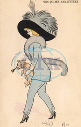 GIRL IN TROUSERS 1911