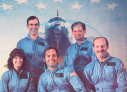 STS-7 SHUTTLE CREW