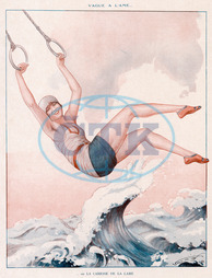 SWINGING OVER WAVES 1928