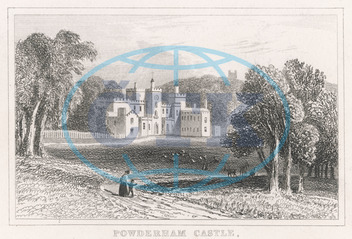 POWDERHAM CASTLE/DEVON