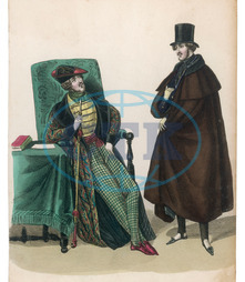 SMOKING FASHIONS 1836