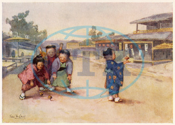 JAPAN/SPINNING TOPS/1907
