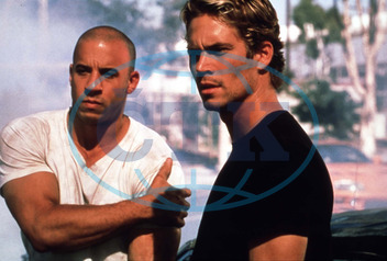 THE FAST AND THE FURIOUS VIN DIESEL,  PAUL WALKER