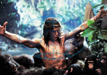 GREYSTOKE THE LEGEND OF TARZAN LORD OF THE APES CHRISTOPHER LAMBERT GREYSTOKE: THE LEGEND OF TARZAN,  LORD OF THE APES