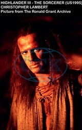 HIGHLANDER III THE SORCERER CHRISTOPHER LAMBERT