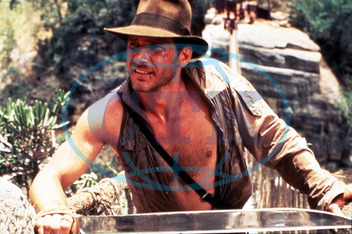 INDIANA JONES AND THE TEMPLE OF DOOM HARRISON FORD PLEASE CREDIT LUCASFILM