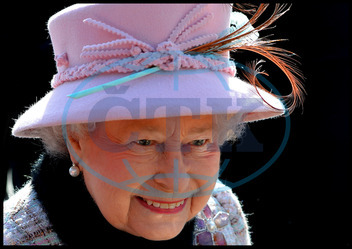 FILE PHOTO - Queen Elizabeth sends the first royal tweet under her own name