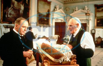 THE REMAINS OF THE DAY ANTHONY HOPKINS,  PETER VAUGHN FILM RELEASE BY MERCHANT IVORY PRODUCTIONS THE REMAINS OF THE DAY ANTHONY HOPKINS,  PETER VAUGHN PICTURE FROM THE RONALD GRANT ARCHIVE FILM RELEASE