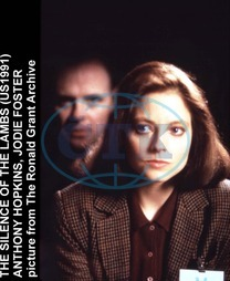 THE SILENCE OF THE LAMBS JODIE FOSTER,  ANTHONY HOPKINS