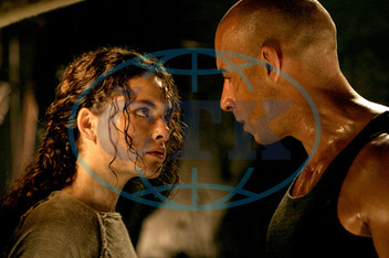 THE CHRONICLES OF RIDDICK ALEXA DAVALOS AND VIN DIESEL