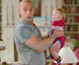 THE PACIFIER VIN DIESEL,  LUKE / BO VINK as Baby Tyler