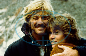 THE ELECTRIC HORSEMAN ROBERT REDFORD,  JANE FONDA