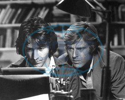 ALL THE PRESIDENT'S MEN [US 1976] DUSTIN HOFFMAN as Carl Bernstein,  ROBERT REDFORD as Bob Woodward