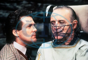 THE SILENCE OF THE LAMBS ANTHONY HEALD,  ANTHONY HOPKINS as Dr. Hannibal Lecter