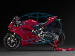 motocykl Ducati 1299 Panigale S,  PROTEXT
