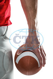 20s, Young Adult, Man, Male, Caucasian, Close-up, White Background, Isolated, Football Player, American Football - Sport, American Football Player, Sport, Competitive Sport, Sports Uniform, Competition, Sports Cloth