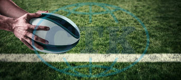 20s, Young Adult, Man, Male, Caucasian, Rugby, Sport, Event, World, Cup, Pitch, Leisure, Digital, Digitally Generated, Computer Graphic, Line, Grass, Football Player, American Football - Sport, American Football Player,