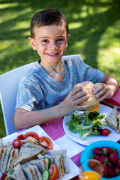 Child, Boy, Male, Caucasian, Outdoors, Enjoying, Relaxing, Leisure, Spare Time, Free Time, Activities, Time Off, Childhood, Smiling, Happiness, Cute, Casual, Lifestyle, Kid, Summer, Fun, Playful, Relaxation, Drinking, Glass,