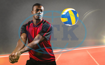 20s, Young Adult, Man, Male, Native American, Volleyball, Set, Athlete, Sports, Olympic, Sport, Sport Field, Play, Sportsman, Digital, Digitally Generated, Computer Graphic, Copy Space, Field, Ground, Outdoor, Gym, Gymnasi