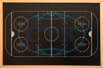 Blackboard, Chalk, Classroom, School, Chalkboard,  Blank, Plain, Clear, Education, Digital Image, Composite Image, Plan, Sport Field, Line, White Background, Draft, Design, Sports, Ice Hockey, Hockey, Planning, Win